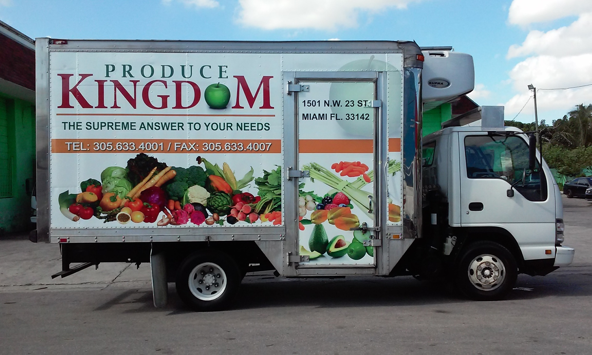 Box Truck Vehicle Wrap