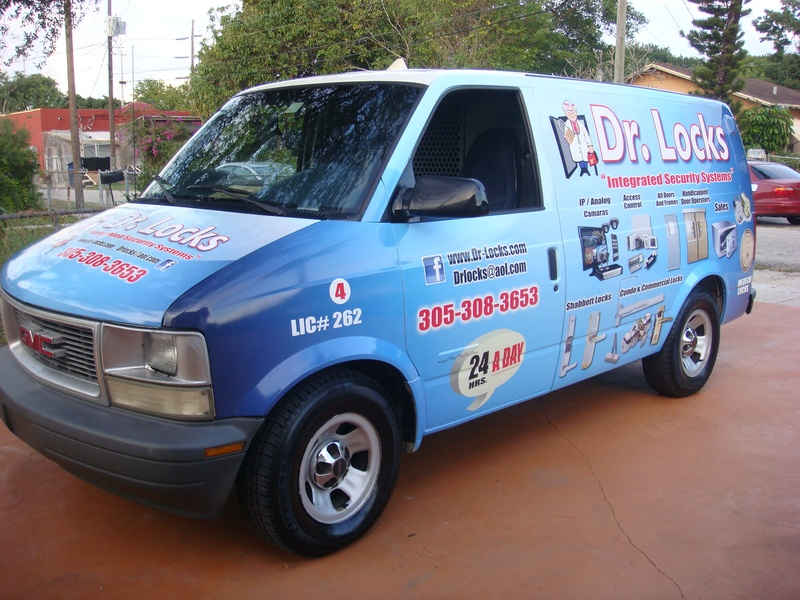 Full color vehicle wrap
