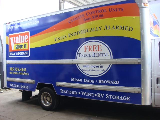 Box Truck wrap 3M Vinyl
