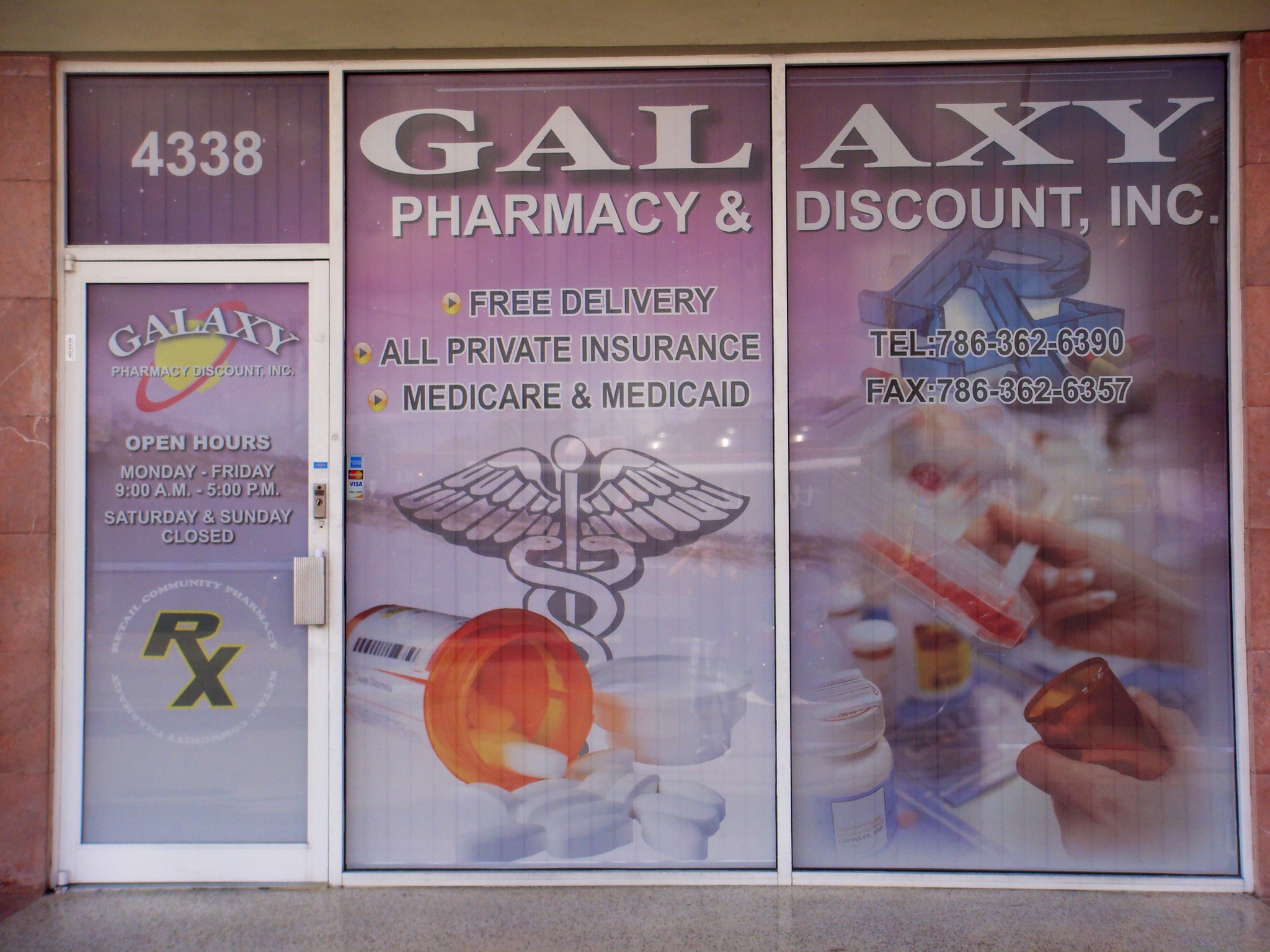 Storefront design with Perforated Vinyl